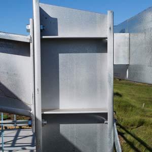 Welded Portal Frames   R&F Steel Buildings